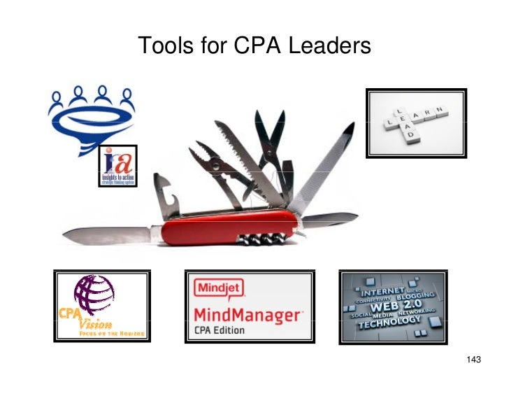 Tools for CPA Leaders                             143