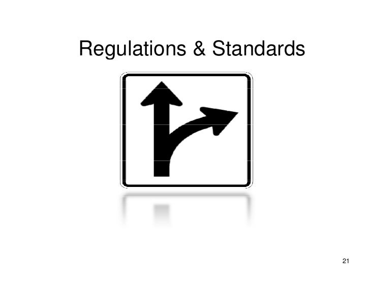 Regulations & Standards                               21