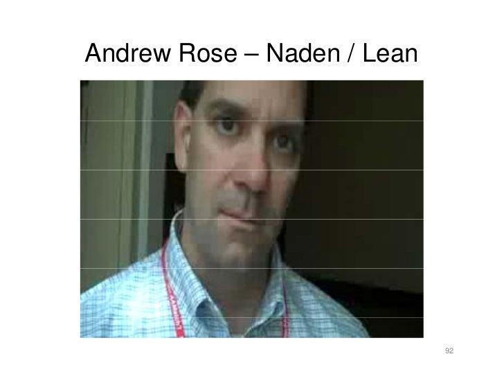 Andrew Rose – Naden / Lean                                  92