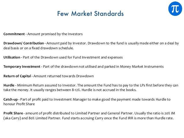 Commitment-AmountpromisedbytheInvestors Drawdown/Contribution-AmountpaidbyInvestor.Drawdowntothefundisu...