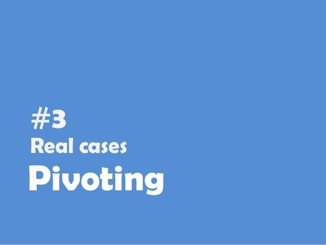 Lean Startup: Pivot vs Persevere