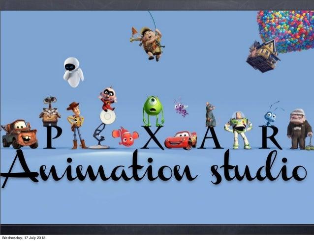 Animation studio Wednesday, 17 July 2013