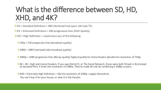 sd vs hd tv resolution 1080p