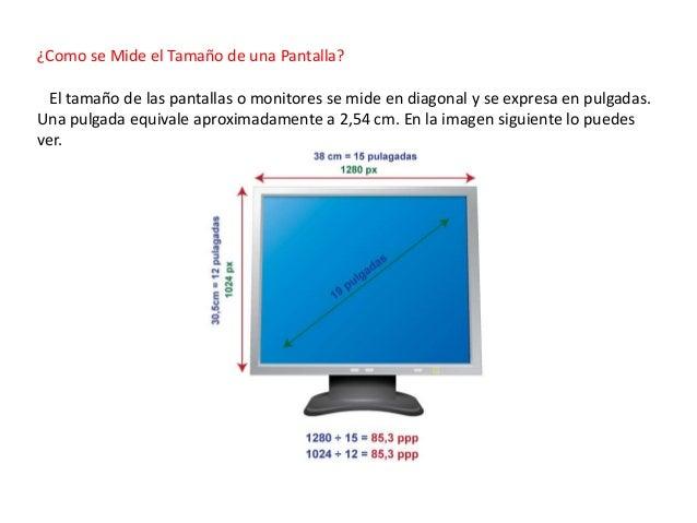 Pixel resolucion y tama o de pantalla - Medidas de monitores para pc ...