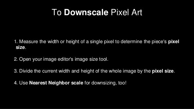 Pixel Art and How to Make It