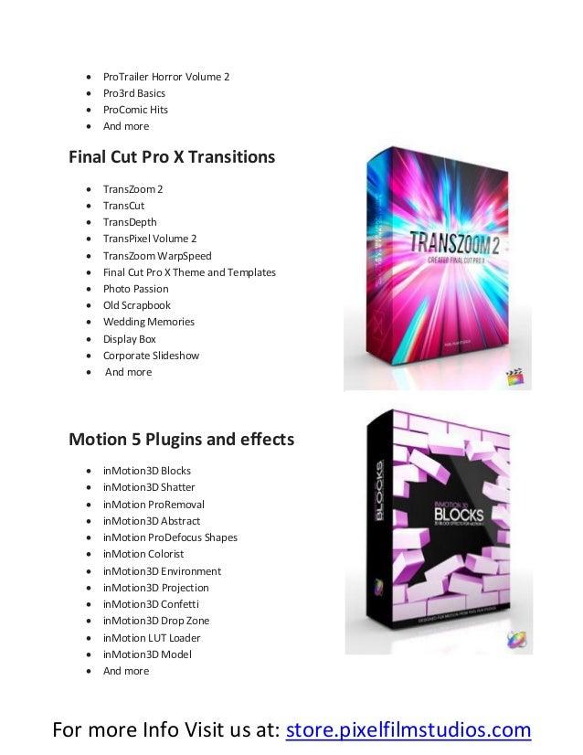 Best Final Cut Pro X Products