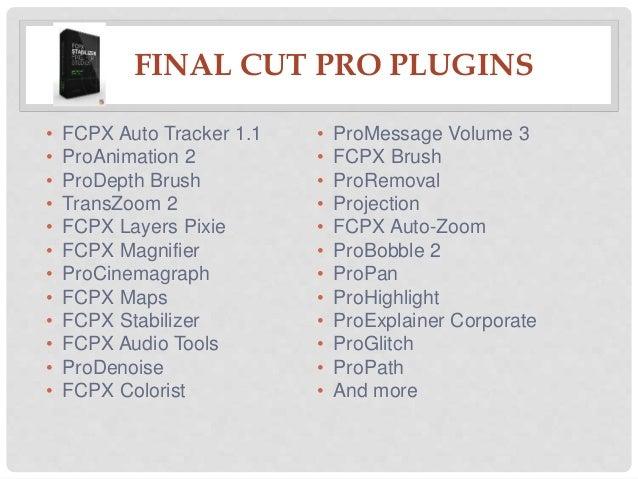 Fcpx Plugins