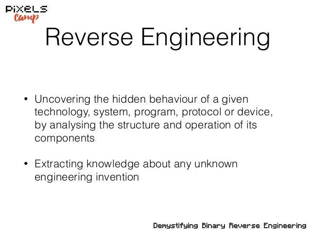 Demystifying Binary Reverse Engineering - Pixels Camp