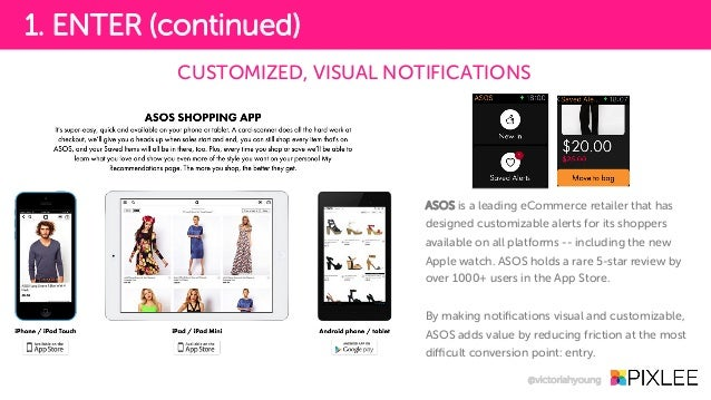 ASOS is a leading eCommerce retailer that has designed customizable alerts for its shoppers available on all platforms -- ...