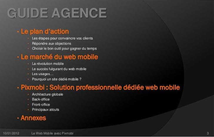 Pixmobi - Guide agences Slide 3