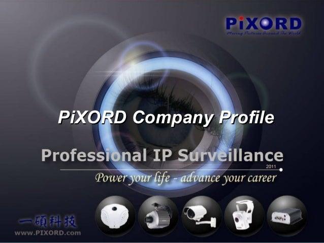 PiXORD Company Profile