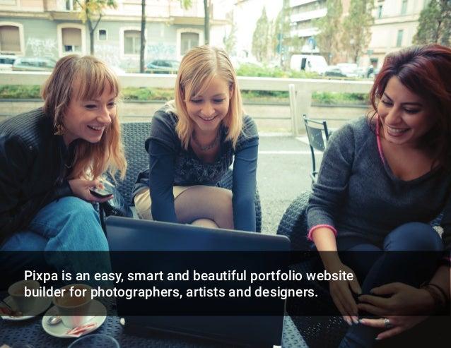 Pixpa - Website Design Examples Slide 2