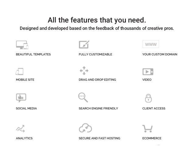 Pixpa - Website Design Examples Slide 3