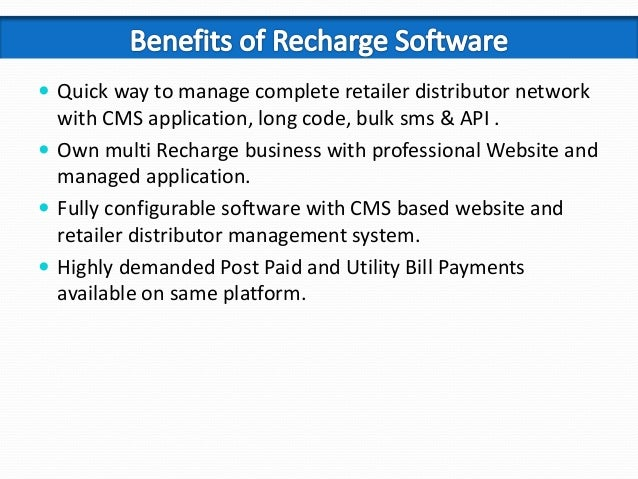 Pixyrs Softech Recharge Software Solution