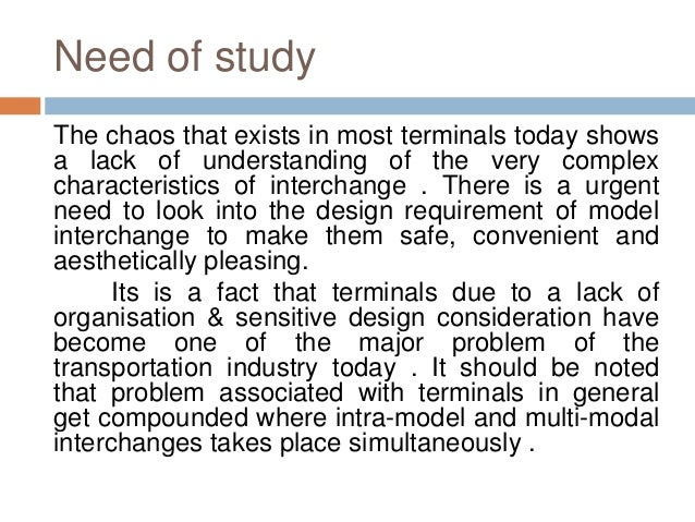 Phd thesis on transportation problem
