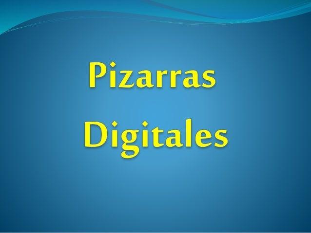 indice ¿En qué consiste una pizarra digital? Elementos de una Pizarra digital. Tipos:  Electromagnética  Resistiva  ...