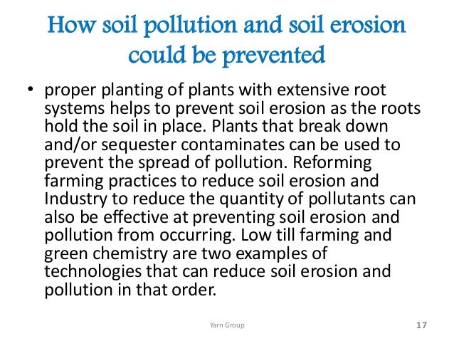 soil pollution in 17 how soil pollution