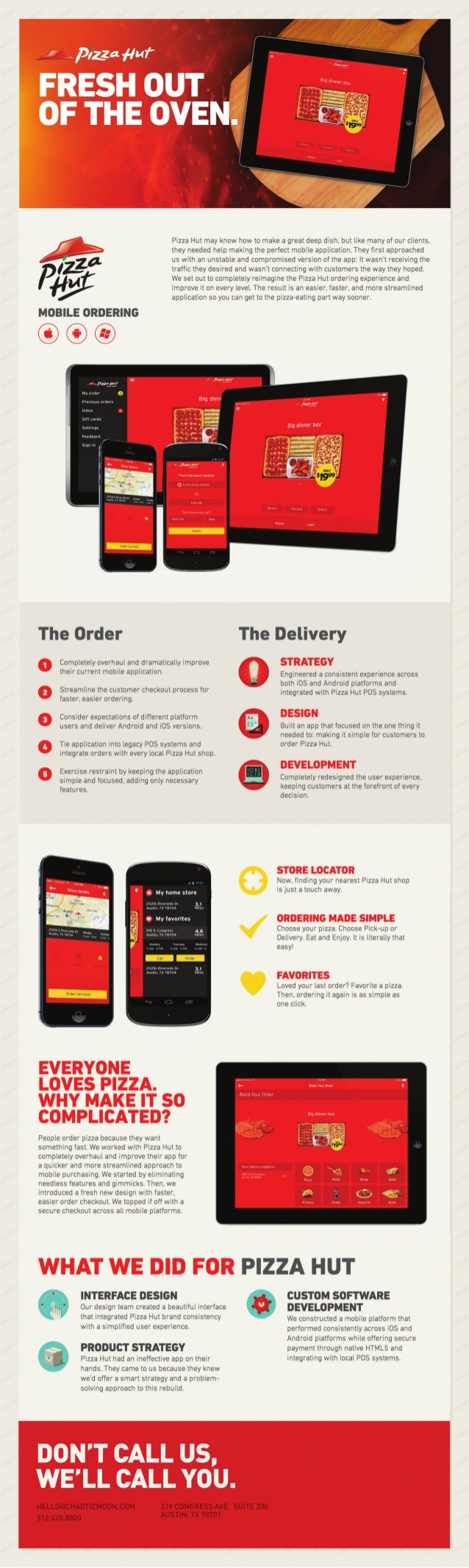 How Pizza Hut Introduced An App That Delivered
