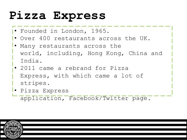 Competitors Pizza hut • Younger customers • Lots of families • Ice Cream Factory • TMNT Competition • Well known for child...