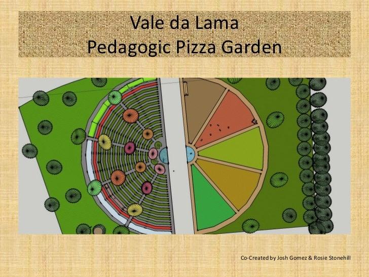 Vale da LamaPedagogic Pizza Garden                 Co-Created by Josh Gomez & Rosie Stonehill