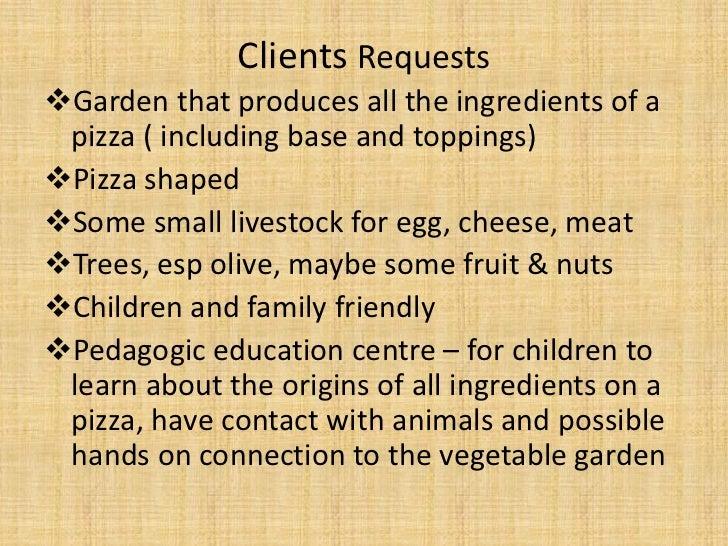 Pizza garden Slide 2