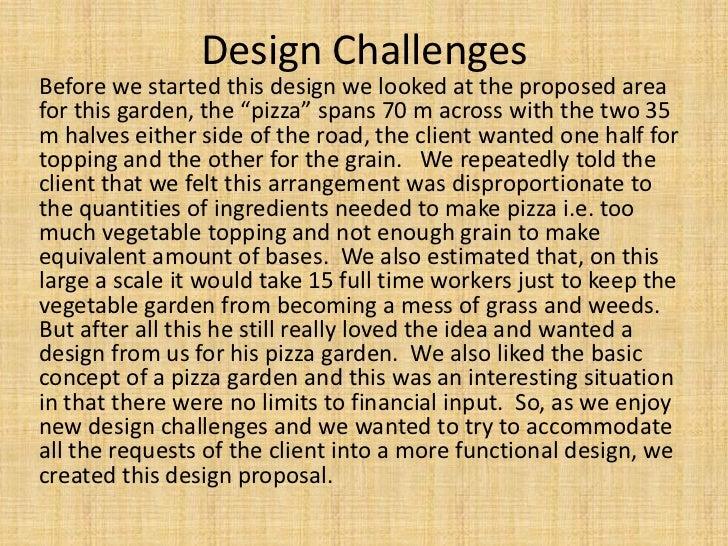 Pizza garden Slide 3