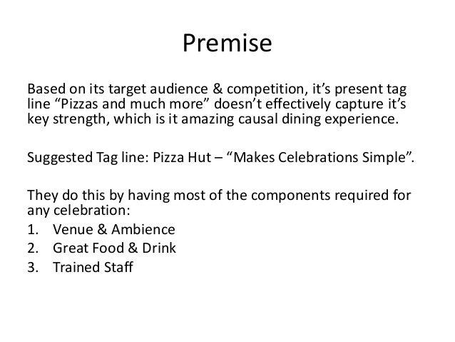 Pizza Hut Pitch Presentation