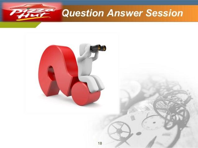 Company Logo  Question Answer Session  18
