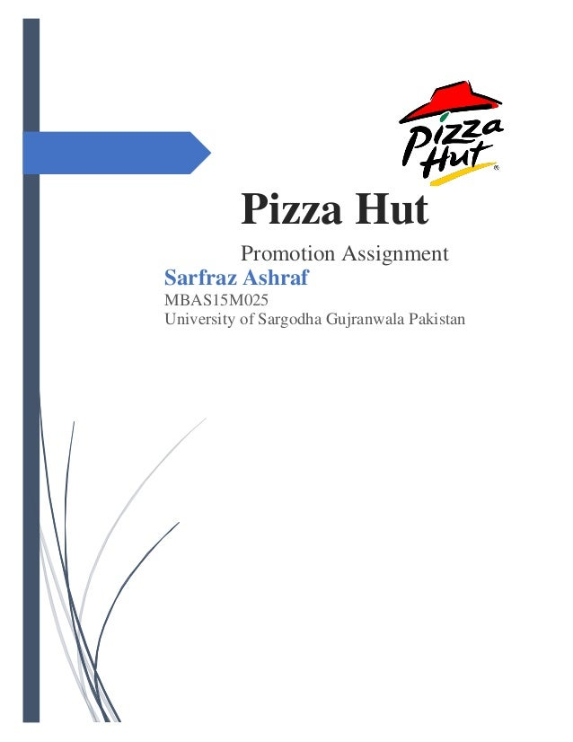 Marketing and pizza hut