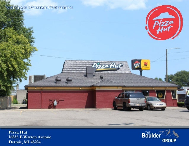 Net Lease Pizza Hut Property For Sale