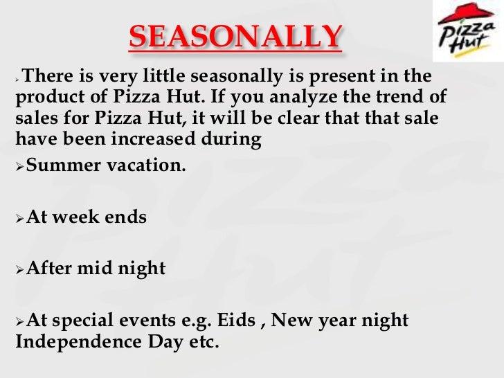 Pizza hut 1st feb