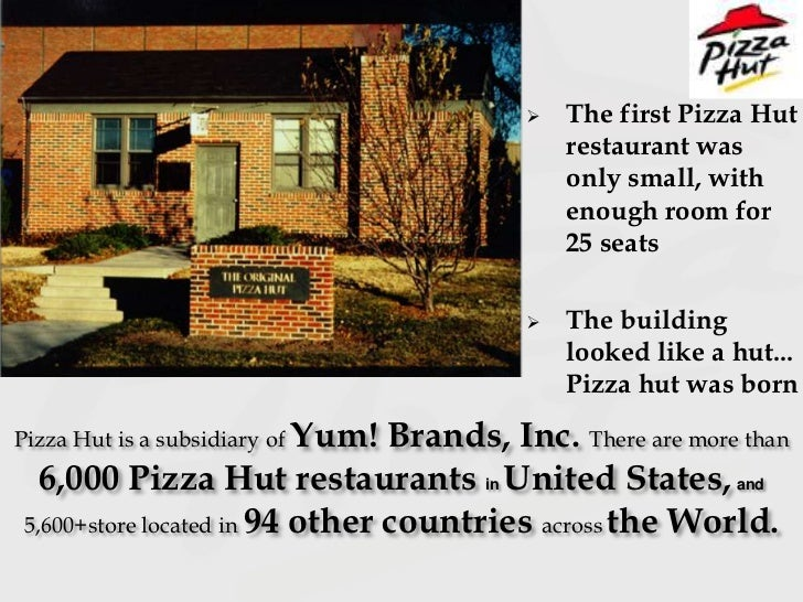 A Brief History of Pizza Hut