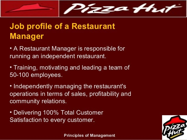role of performance management case study pizza hut Competency mapping for performance management 1 competency mapping ,assessment & management 2 competency mapping research indicates that source of 50% of job performance problems is that people are in the wrong job.