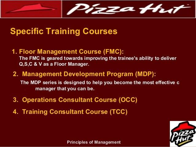 Management project on pizza hut