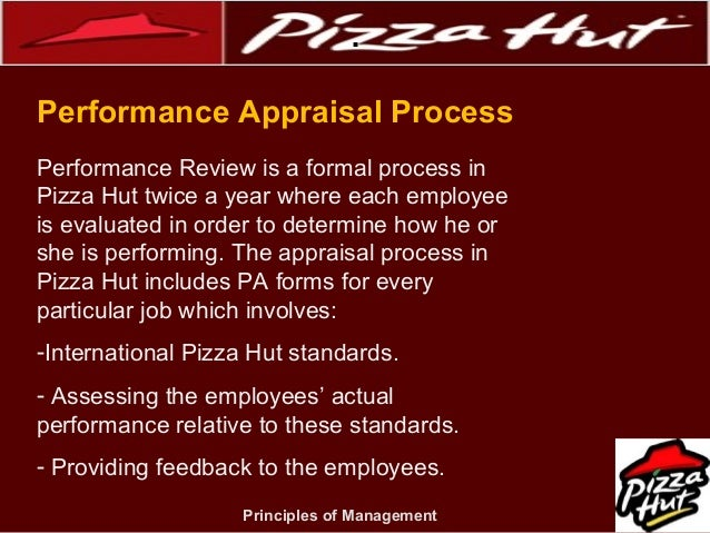pizza hut operation management Within concepts of operations management, flexibility is one of the most important components but what is flexibility it is to have quick response to different kinds of situation such as.