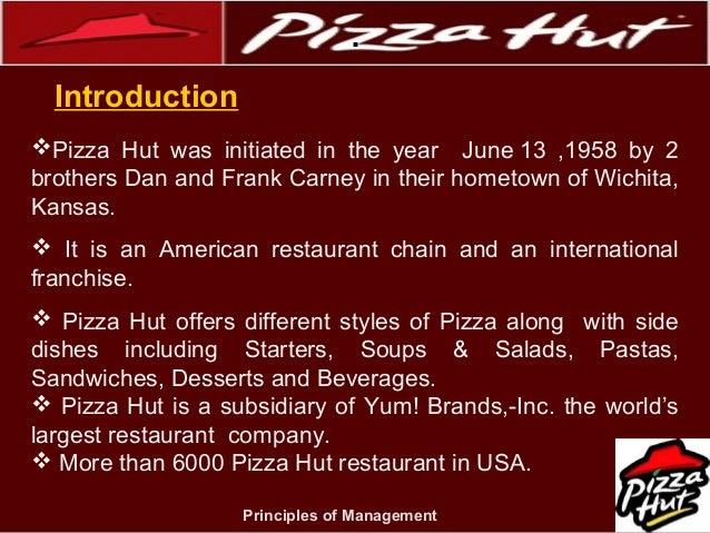 Pizza Hut Hrm