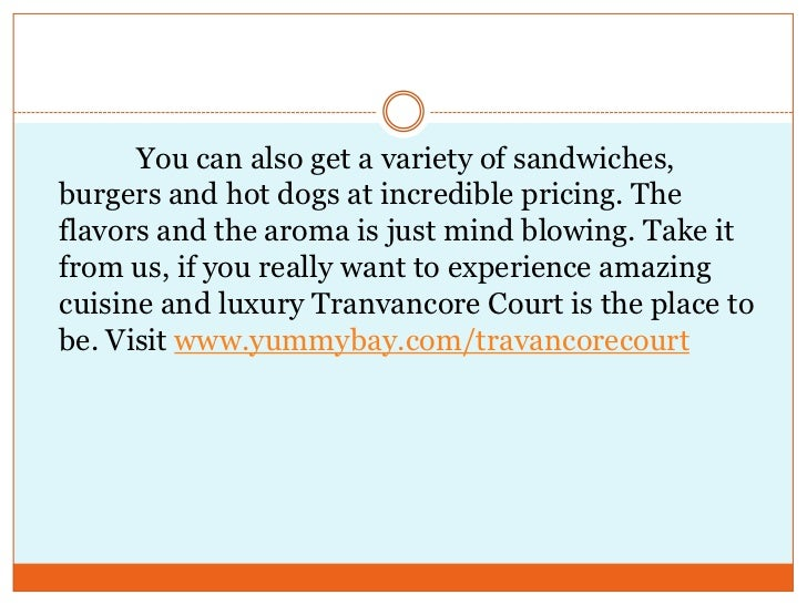 You can also get a variety of sandwiches, burgers and hot dogs at incredible pricing. The flavors and the ar...