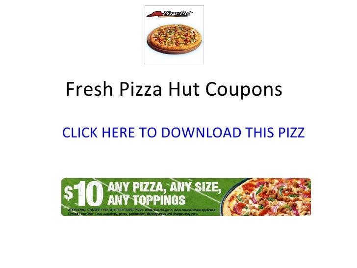 photograph about Pizza Hut Printable Application named Pizza hut printable coupon codes