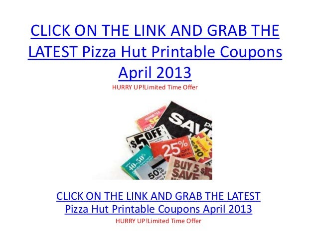 graphic about Pizza Hut Printable Application named Pizza Hut Printable Discount codes April 2013 - Pizza Hut Printable