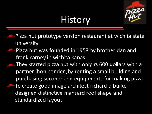 introduction of pizza hut The cute and sweet name of pizza hut can inspire our taste buds like no other   however, with the introduction of pan pizza, the company regained its reigns as.