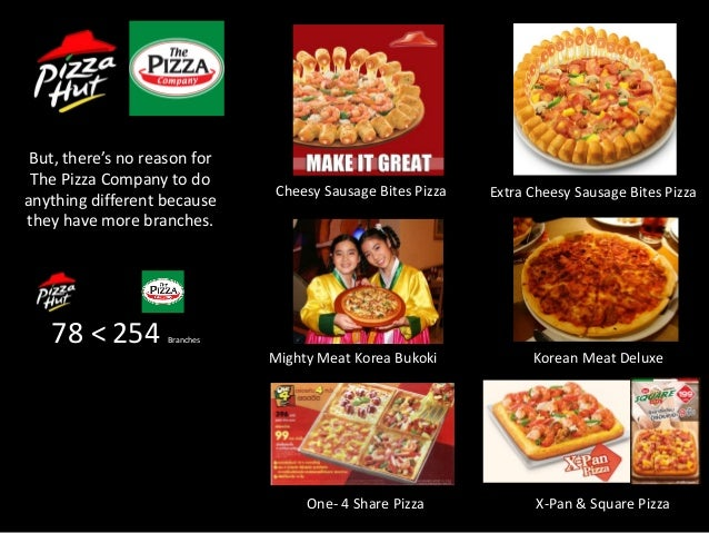 peformance of pizza hut as a company Pizza hut, llc operates a chain of pizza restaurants in the united states and internationally the company offers pizzas, pastas, wings, sides, dipping sauces, drinks, and desserts it also offers.