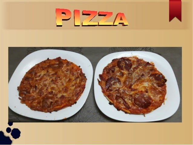 ● PIZZA DOUGH ● TOMATOE SAUCE ● CHEESE ● HAM ● SAUSSAGE INGREDIENTS
