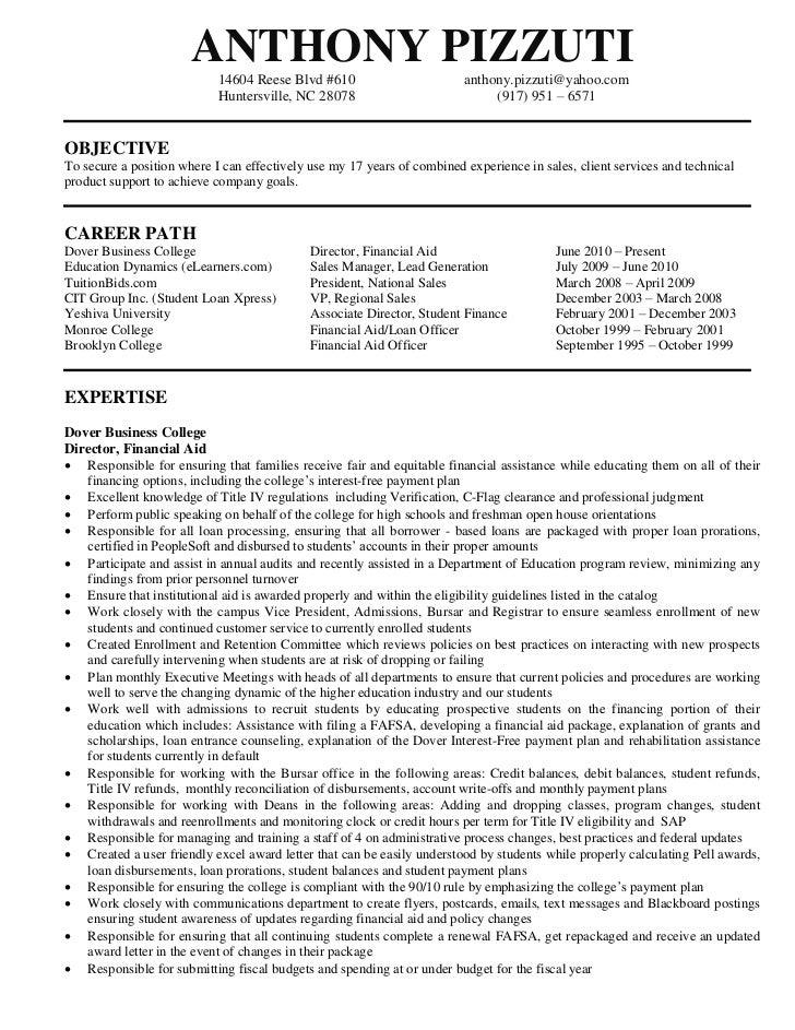resume detail