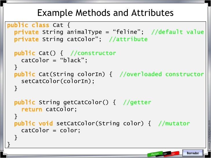 what are attributes in java
