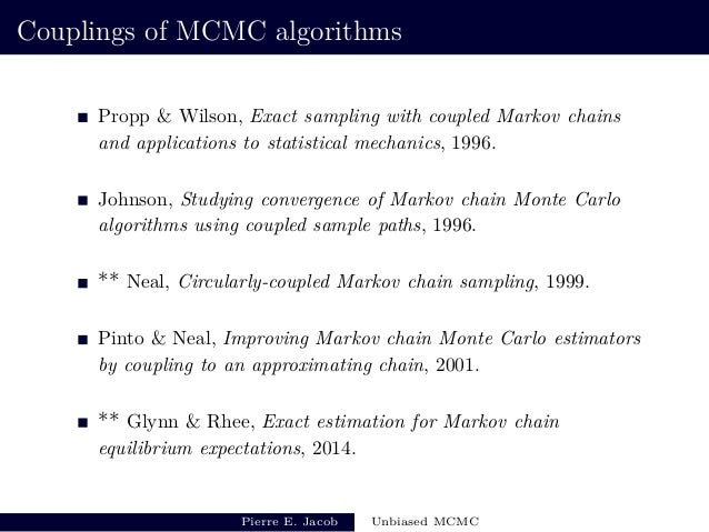 Recent developments on unbiased MCMC