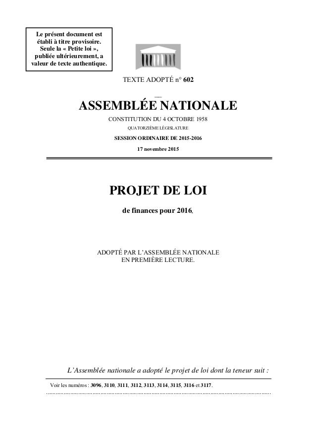 TEXTE ADOPTÉ n° 602 __ ASSEMBLÉE NATIONALE CONSTITUTION DU 4 OCTOBRE 1958 QUATORZIÈME LÉGISLATURE SESSION ORDINAIRE DE 201...