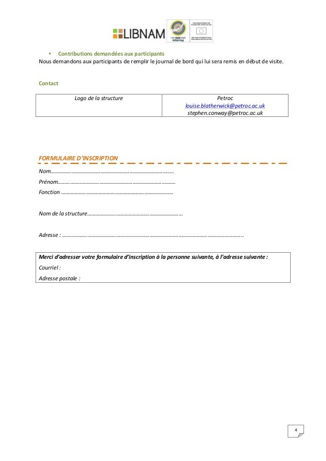 4        • Contributions  demandées  aux  participants   Nous  demandons  aux  participant...