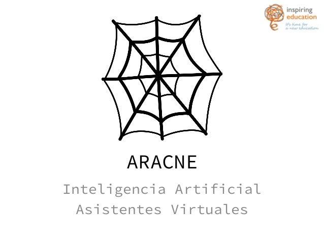 ARACNE Inteligencia Artificial Asistentes Virtuales