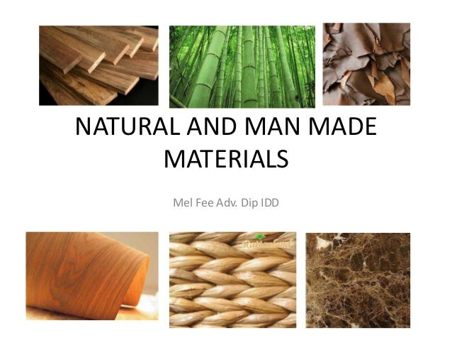 Synthetic Materials Made From Natural Resources