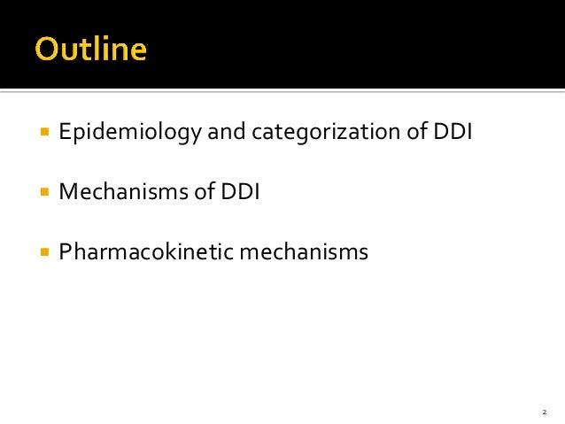 Pharmacokinetic Drug-Drug interactions Slide 2